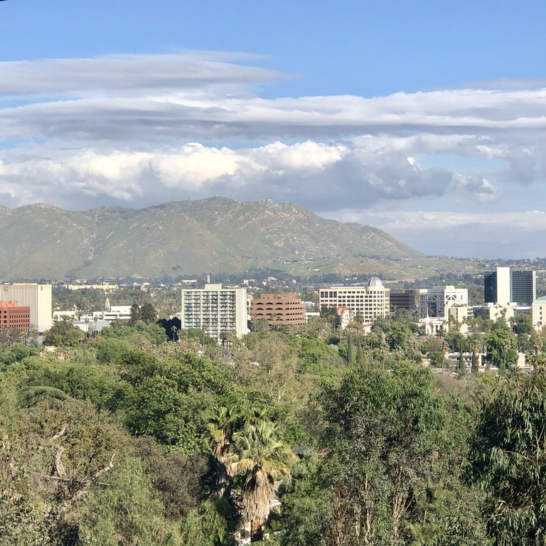 mount rubidoux city view