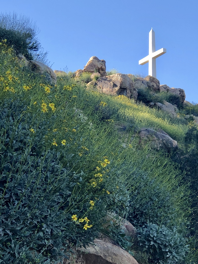 mount rubidoux cross