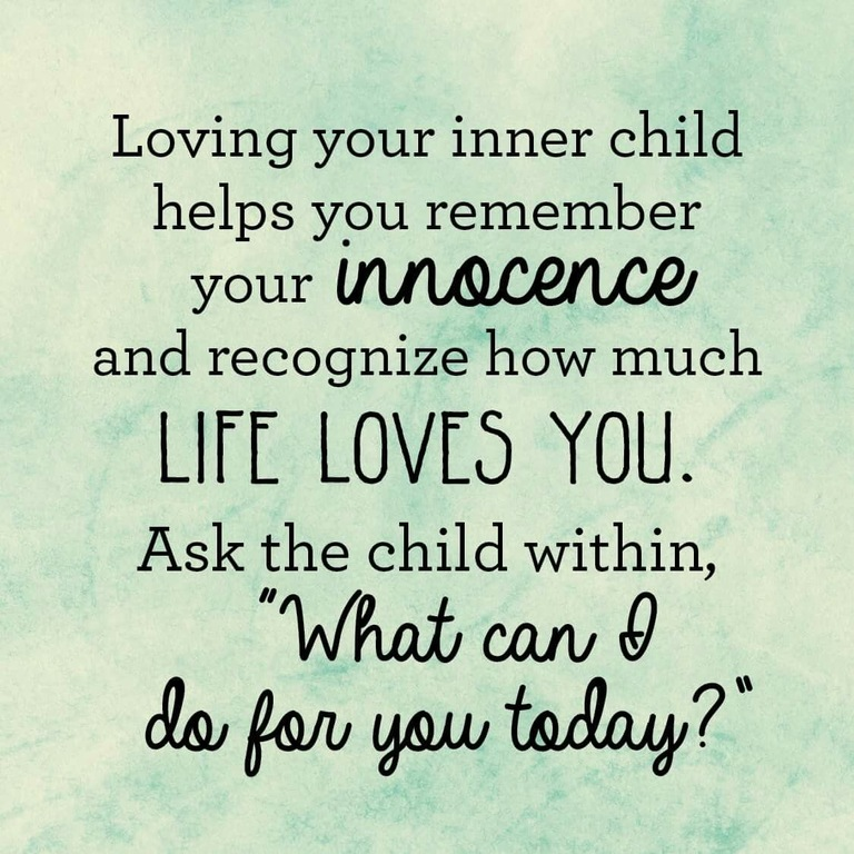 loving your inner child quotes