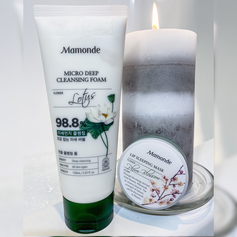 Mamonde Cleansing Foam Review
