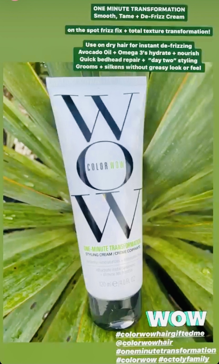 Color Wow Hair Product Review