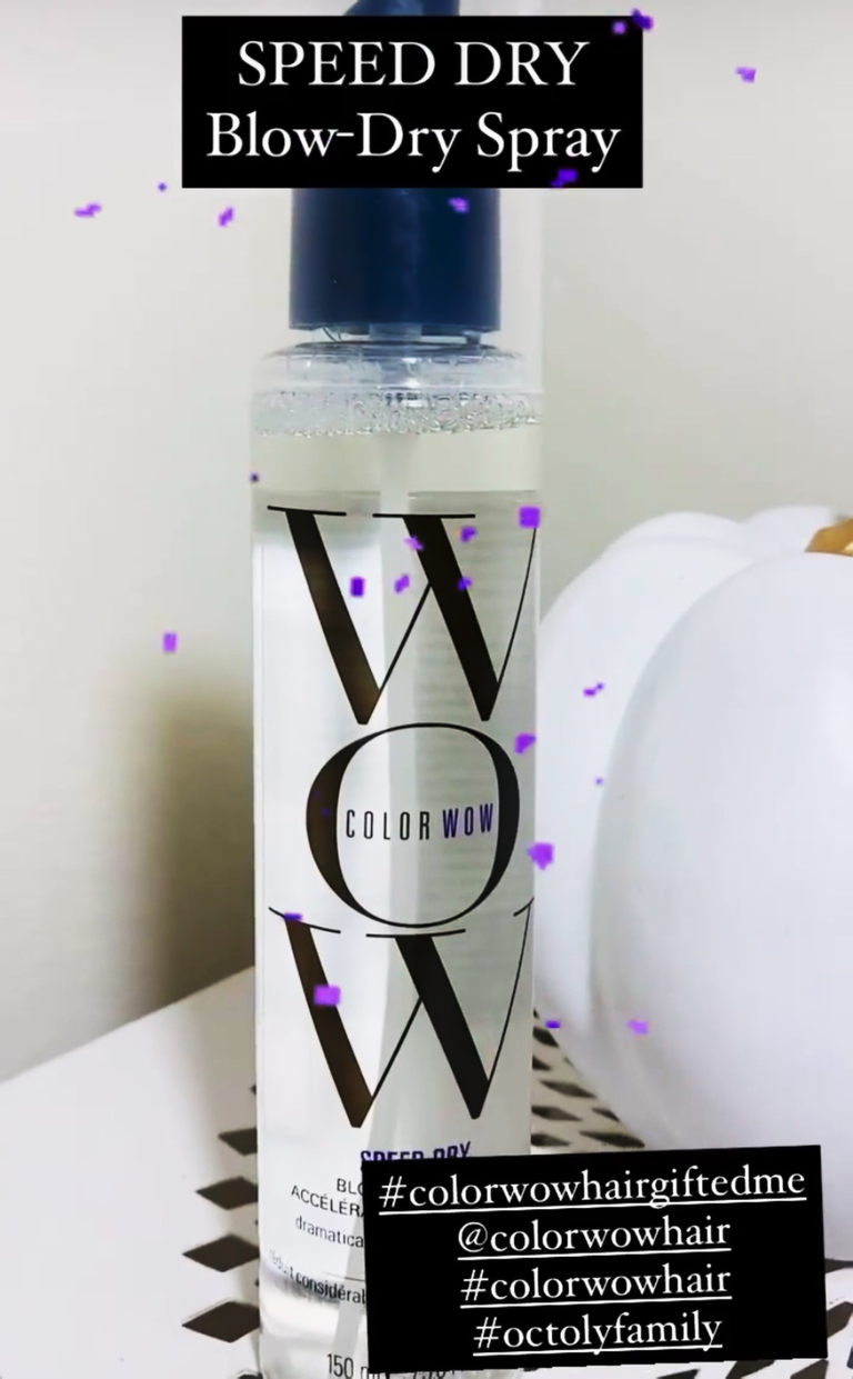 Color Wow Hair Product Review Blog Post