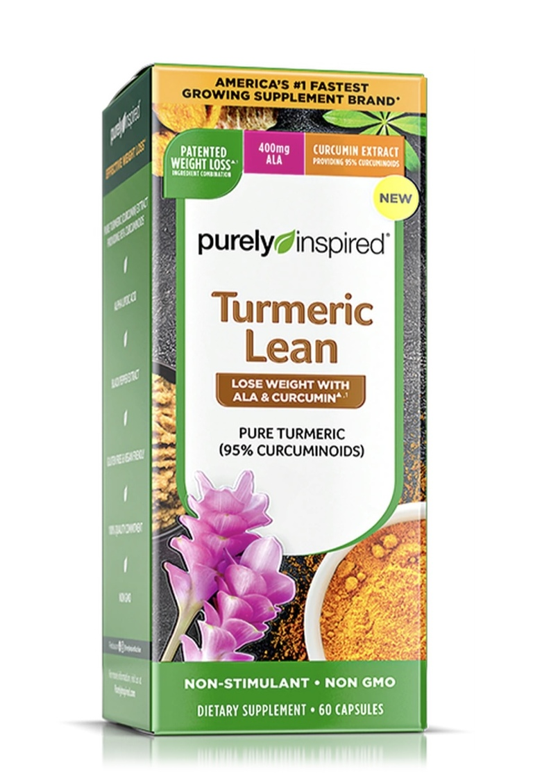 Turmeric Lean Purely Inspired Supplement