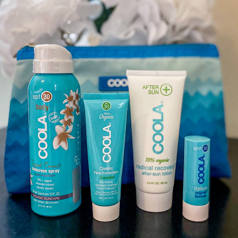 COOLA skin care products blog