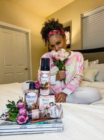 Biore Rose Quartz Charcoal products